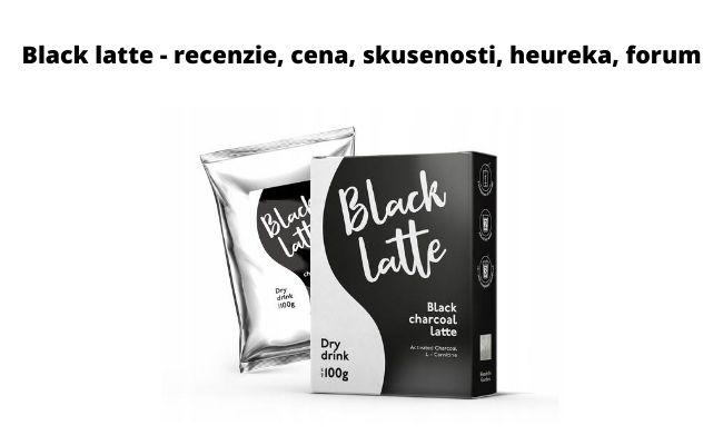 Black latte - recenzie, cena, skusenosti, heureka, forum
